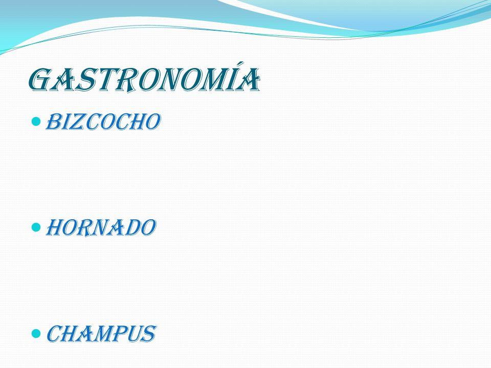 GASTRONOMÍA BIZCOCHO HORNADO CHAMPUS