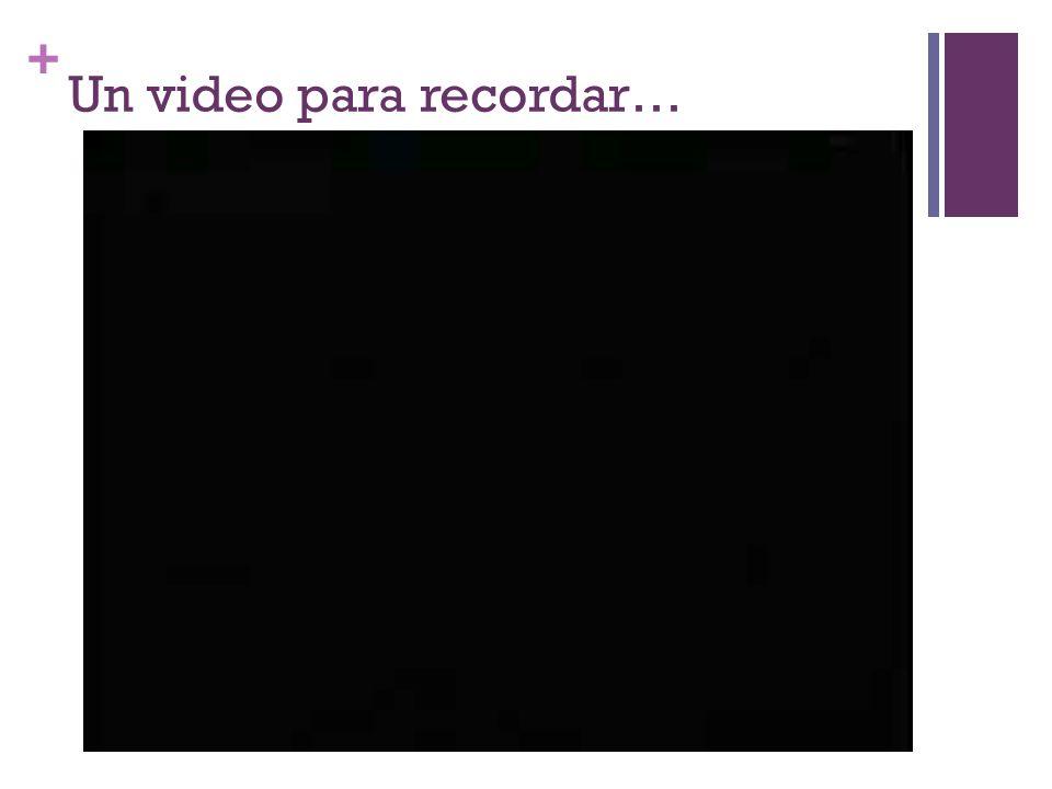 + Un video para recordar…