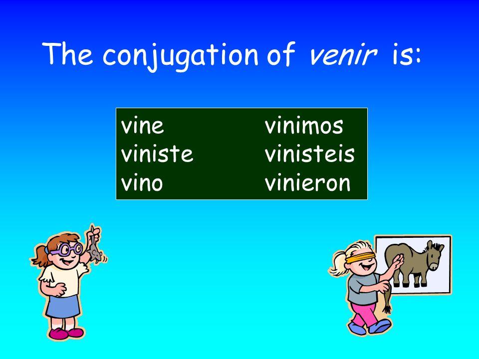 The irregular endings for the U group is: -e-imos -iste-isteis -o-ieron