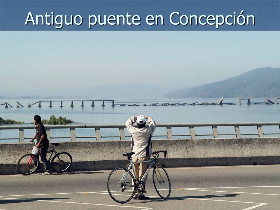 Antiguo puente en Concepción