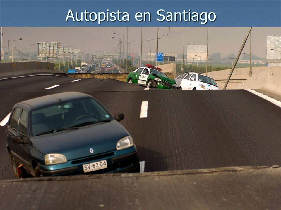 Autopista en Santiago