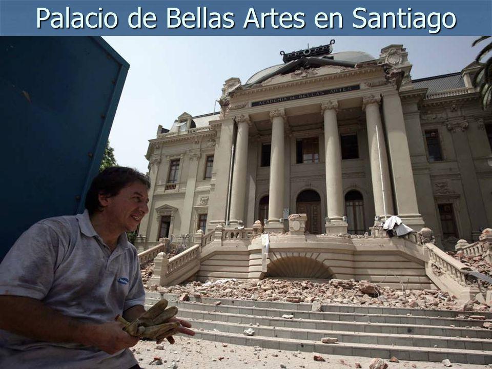 Palacio de Bellas Artes en Santiago