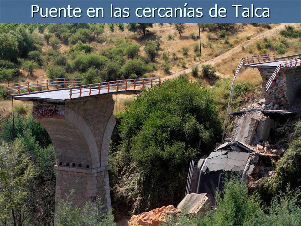 Puente en las cercanías de Talca