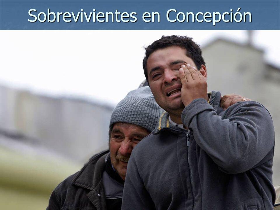 Sobrevivientes en Concepción
