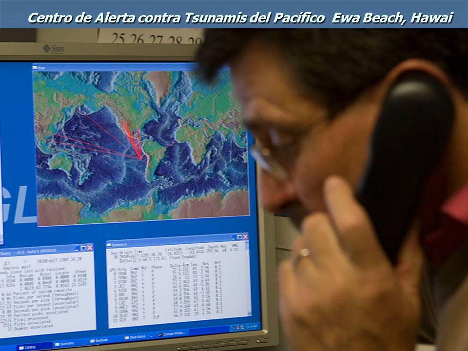 Centro de Alerta contra Tsunamis del Pacífico Ewa Beach, Hawai