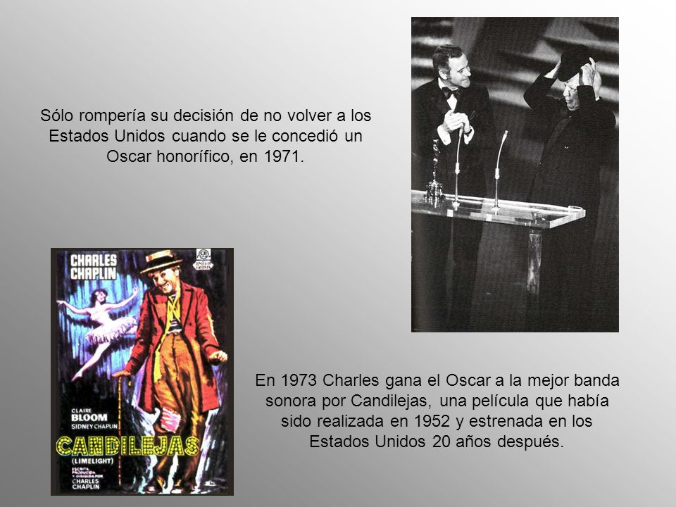 El 17 de septiembre de 1952, el fiscal general de Estados Unidos dio instrucciones a inmigración para retener a Chaplin, su esposa y varios de sus hij