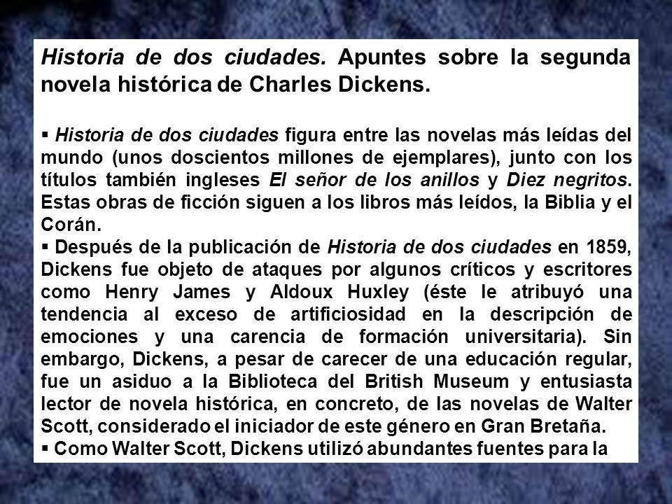 Hemos participado en la Sesión del Club de Lectura: Historia de dos ciudades.
