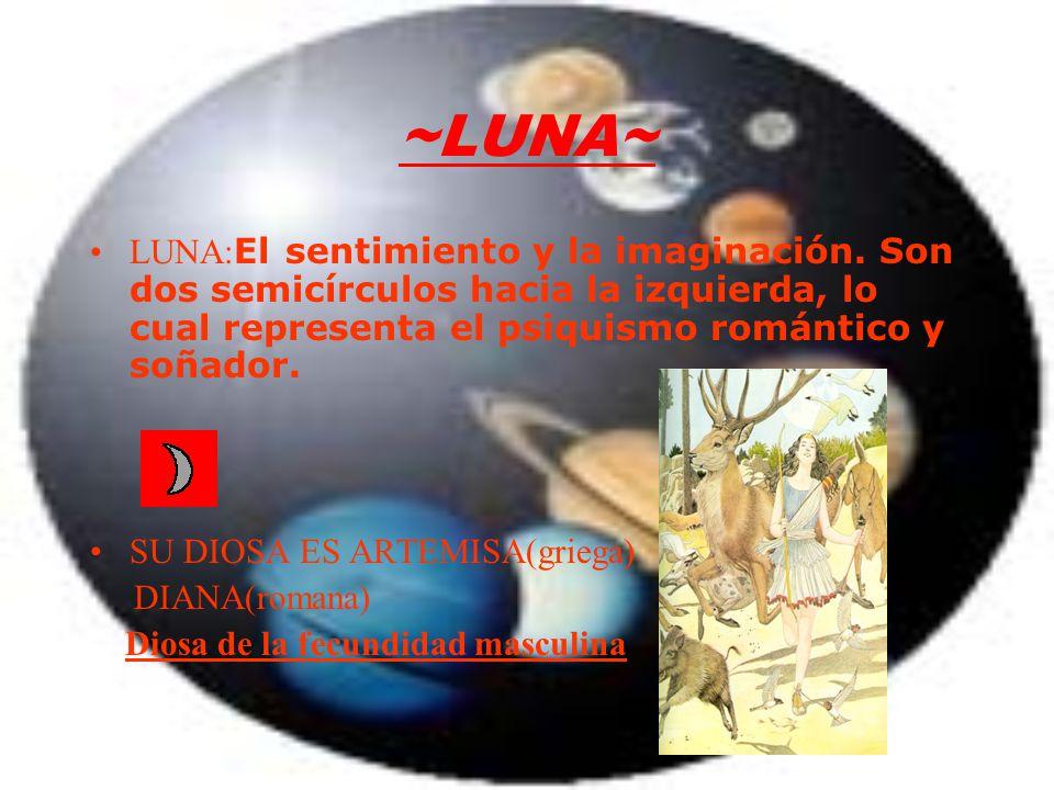 ~LUNA~ LUNA: El sentimiento y la imaginación.