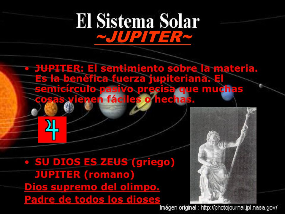 ~JUPITER~ JUPITER: El sentimiento sobre la materia.