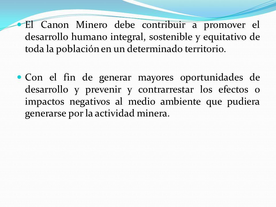 CANON HIDROENERGÉTICO Es la participación, de la cual gozan los gobiernos regionales y gobiernos locales sobre los ingresos y rentas obtenidas por el Estado por la utilización del recurso hídrico (agua) en la generación de energía eléctrica.