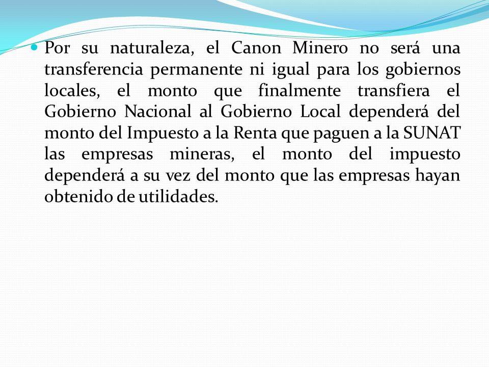 CANON FORESTAL Es la participación de la que gozan las circunscripciones del pago de los derechos de aprovechamiento de los productos forestales y de fauna silvestre, así como de los permisos y autorizaciones que otorgue la autoridad competente.