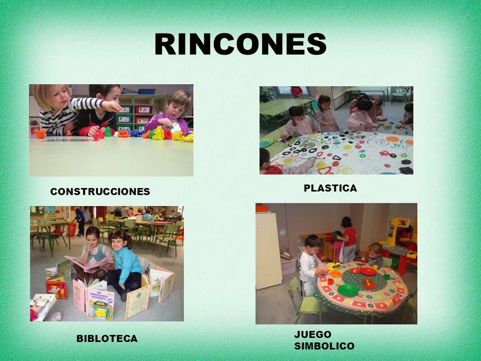 RINCONES CONSTRUCCIONES PLASTICA BIBLOTECA JUEGO SIMBOLICO