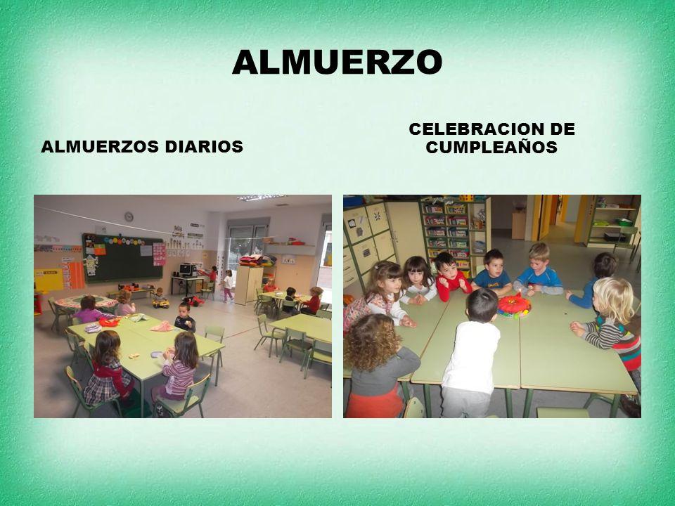 ALMUERZO ALMUERZOS DIARIOS CELEBRACION DE CUMPLEAÑOS