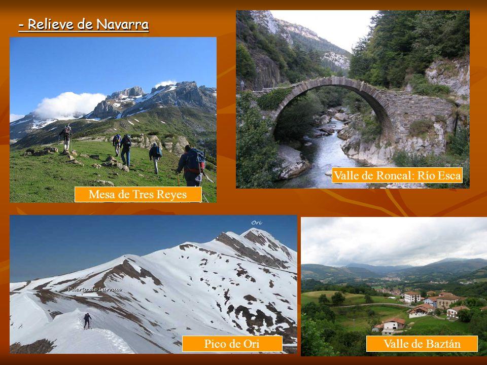 - Relieve de Navarra Santuario de Codés San Miguel de Aralar Sierra de Codés