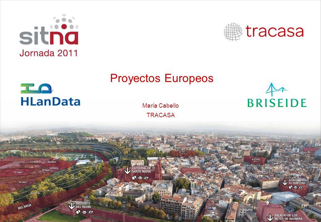 Proyectos Europeos María Cabello TRACASA