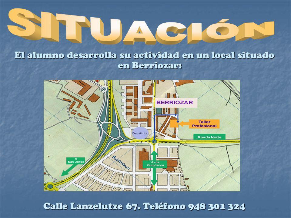 Programa adscrito al I.E.S. San Juan- Donibane Camino Biurdana 1. Teléfono 948 198 646