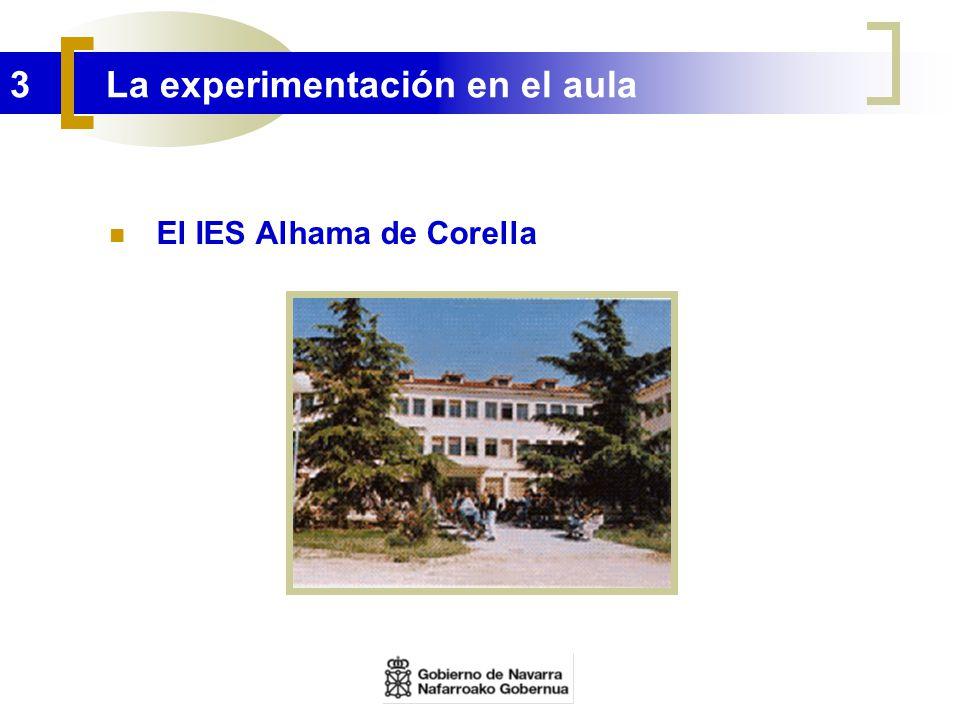 3 La experimentación en el aula El IES Alhama de Corella