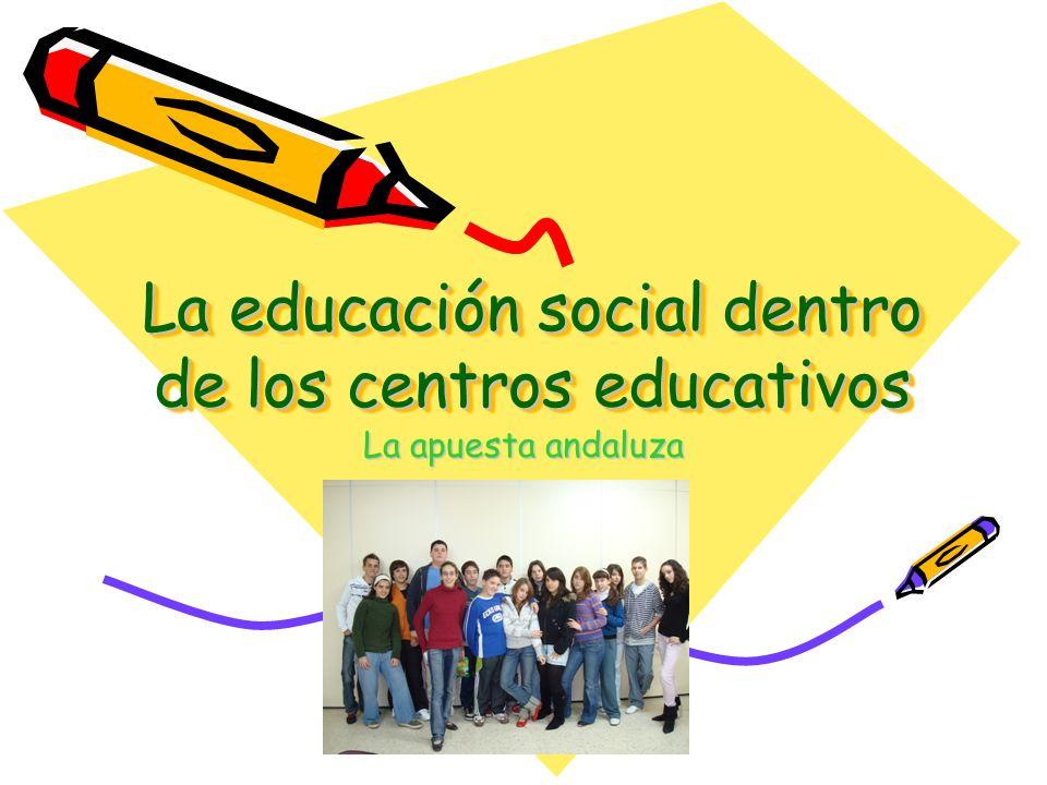 Antecedentes Curso 2000/01La consejería de Educación pone en marcha la red de Centros Escuela espacio de Paz Marzo 2002 APESA envía escrito a la CEJA solicitando reunión para inclusión de educadores sociales en Centros educativos.