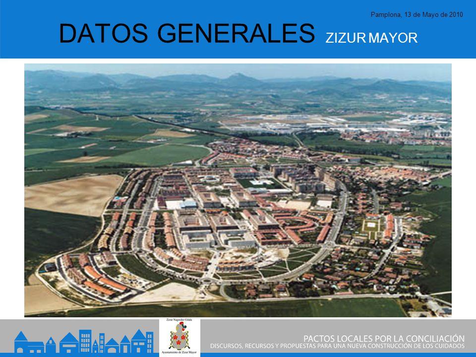 Pamplona, 13 de Mayo de 2010 DATOS GENERALES ZIZUR MAYOR