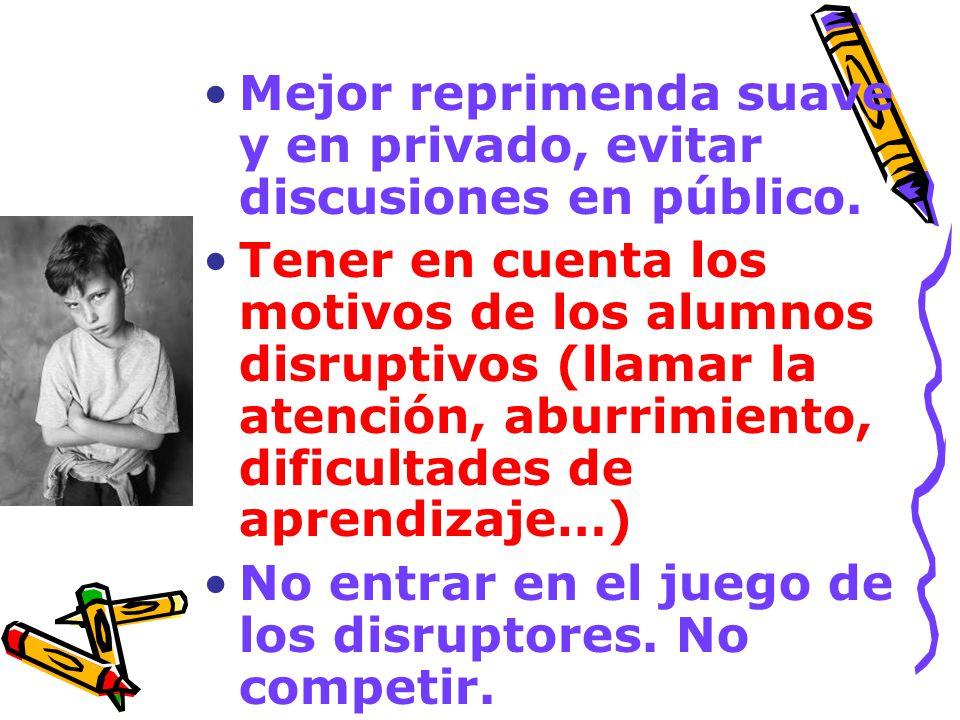 Ejemplos de advertencias Declaración de intenciones:no te puedo permitir… Demanda de compromiso: ¿qué vas a hacer para que no se repita.