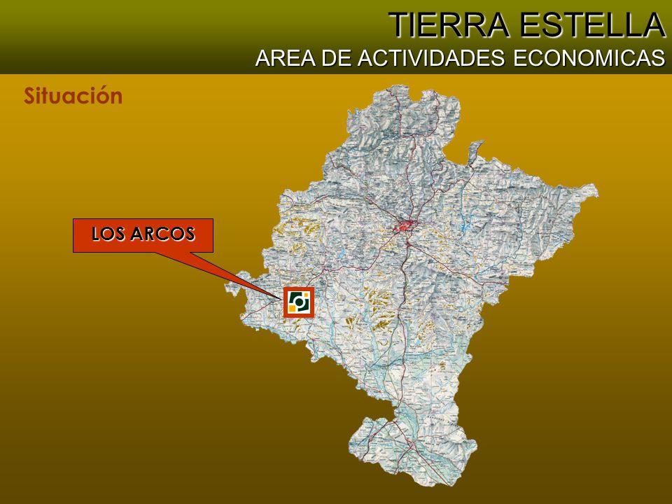 Situación TIERRA ESTELLA AREA DE ACTIVIDADES ECONOMICAS LOS ARCOS