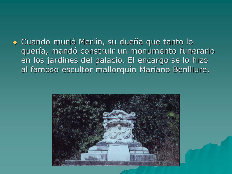 EL PERRO MERLÍN Cuando la condesa salía con su carruaje siempre le acompañaba su perro, al que llamaba Merlín. Era un perro muy listo, obediente y muy