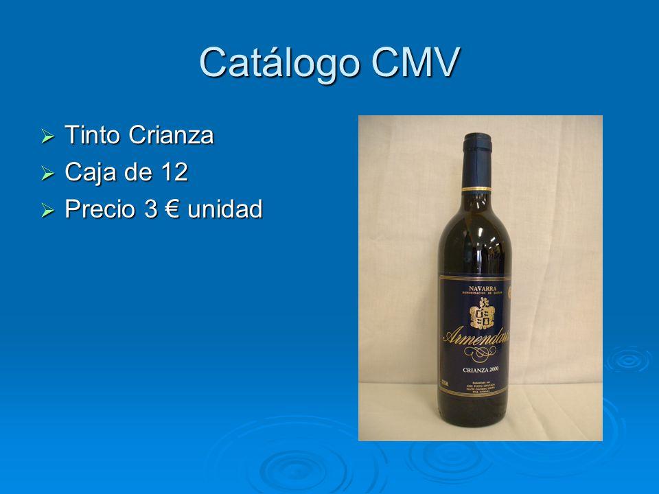 Catálogo CMV Espárragos(con denominación de origen) Espárragos(con denominación de origen) ½ kg 9-12 ½ kg 9-12 Precio 3,20 Precio 3,20