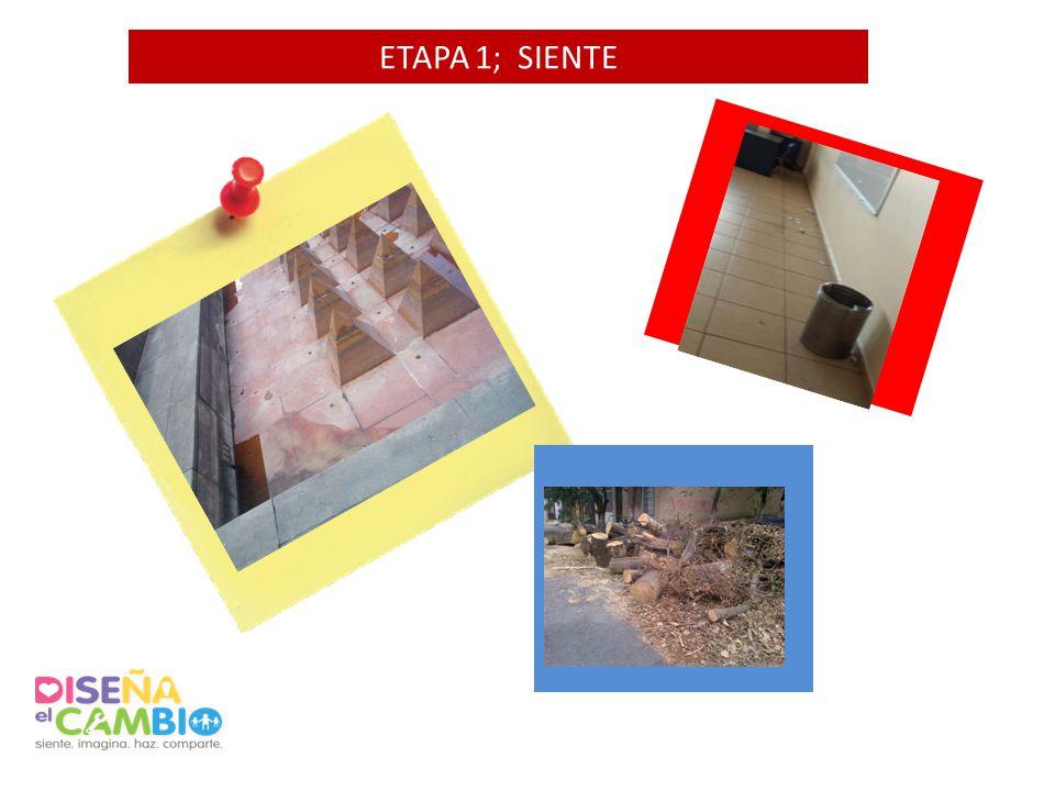 ETAPA 1; SIENTE Agrega 1 foto AQUI Agrega 1 foto AQUI Agrega 1 foto AQUI