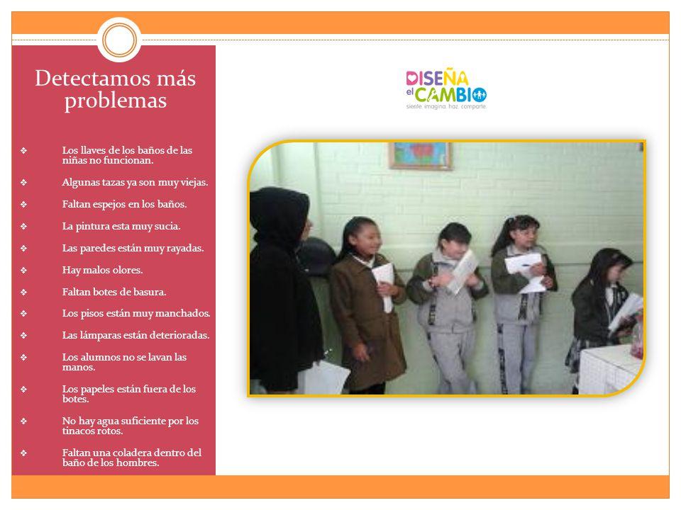 damos pláticas a toda la escuela sobre la importancia de cuidar los baños, tratando de formar el sentido de pertenencia.