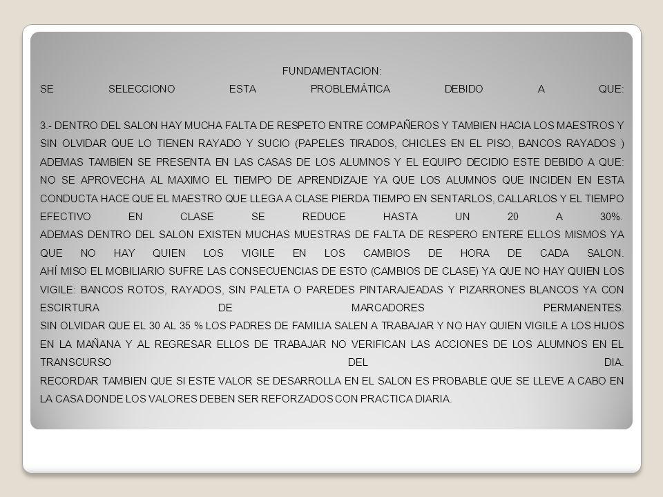 ACCIONES A REALIZAR PARA ENCONTRAR EL RESPETO 26 OCTUBRE DEL 2013 PARA REALIZAR TODAS LAS ACTIVIDADES SE UTILIZARON CARTONCILLOS, PAPEL CHINA, MARCADORES DE AGUA, PEGAMENTO, CINTA ADHESIVA, REGLA, LAP TOP Y CUADERNOS.