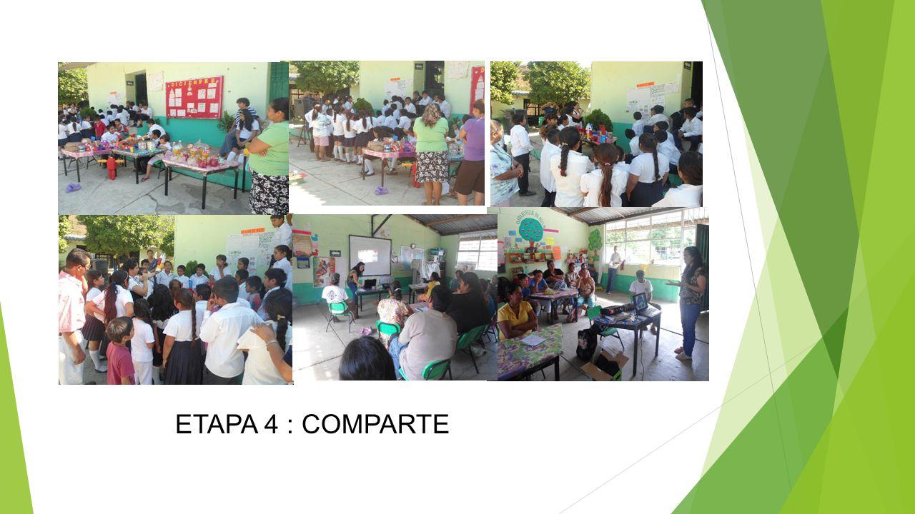 ETAPA 4 : COMPARTE