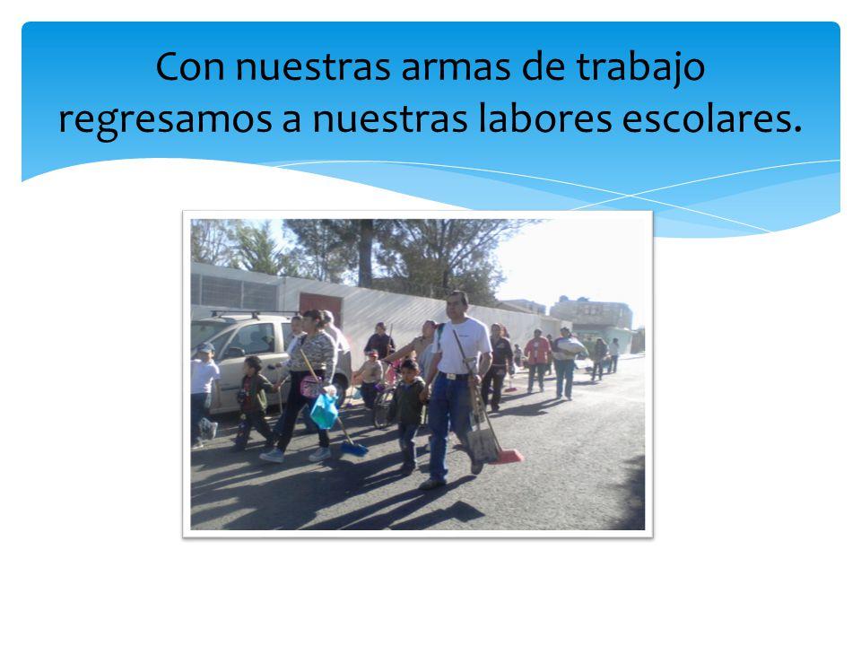 El día 22 de Marzo nos presentamos a la escuela Belisario Domínguez a las 8:30 Observamos que alrededor de la escuela la gente tira basura y hasta animales muertos.