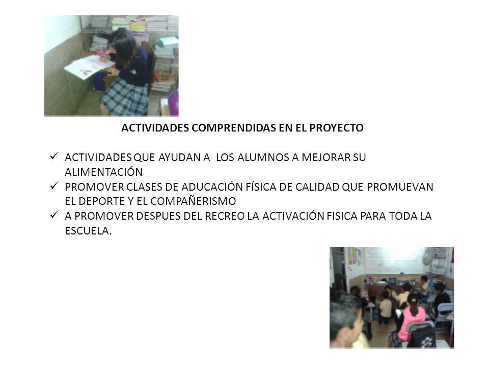 FECHA ACTIVIDADES RESPONSABLEMATERIALES SEPTIEMBRE TODO CABE EN UN PLATITO SABIENDOLO ACOMODAR, CON PRIMERO Y SEGUNDO AÑO DANIELA PADILLA UNA PELOTA DE COLORES, MOLDES CON FRUTAS PICADAS Y PALILLOS OCTUBRE EL PLATO DEL BIEN COMER CON TERCERO Y CUARTO GRADOS DANIELA PADILLA poster del plato del bien comer, hojas blancas, colores, marcadores y cinta adhesiva NOVIEMBREAMEMOS NUESTRO PLATO CON QUINTO Y SEXTO GRADO DANIELA PADILLAláminas del plato del bien comer, recortes de alimentos frutas, verduras, tijeras, pegamento y platos de unicel PLAN DE TRABAJO ESTAS ACTIVIDADES SE REALIZAN PARA FOMENTAR HÁBITOS ALIMENTICIOS EN LOS ALUMNOS