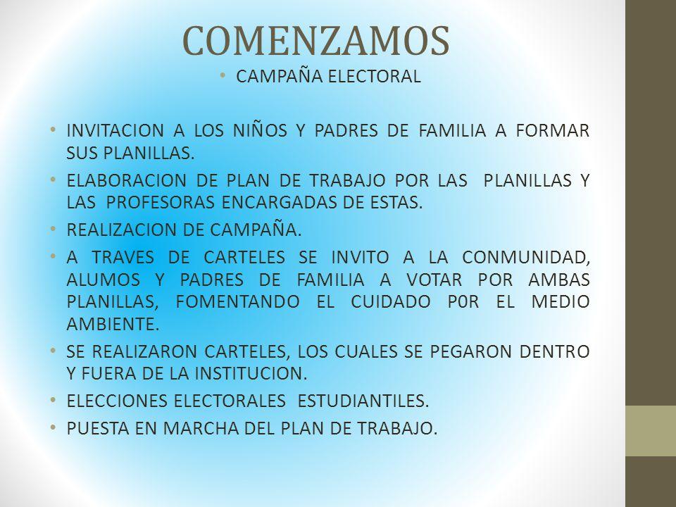 EVIDENCIAS RECOLECCION DEL PET, CARTON Y LATAS.