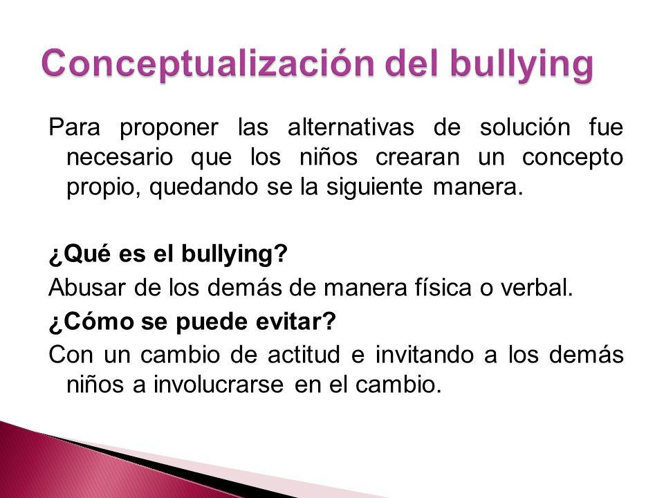 Campaña de concientización anti- bullying