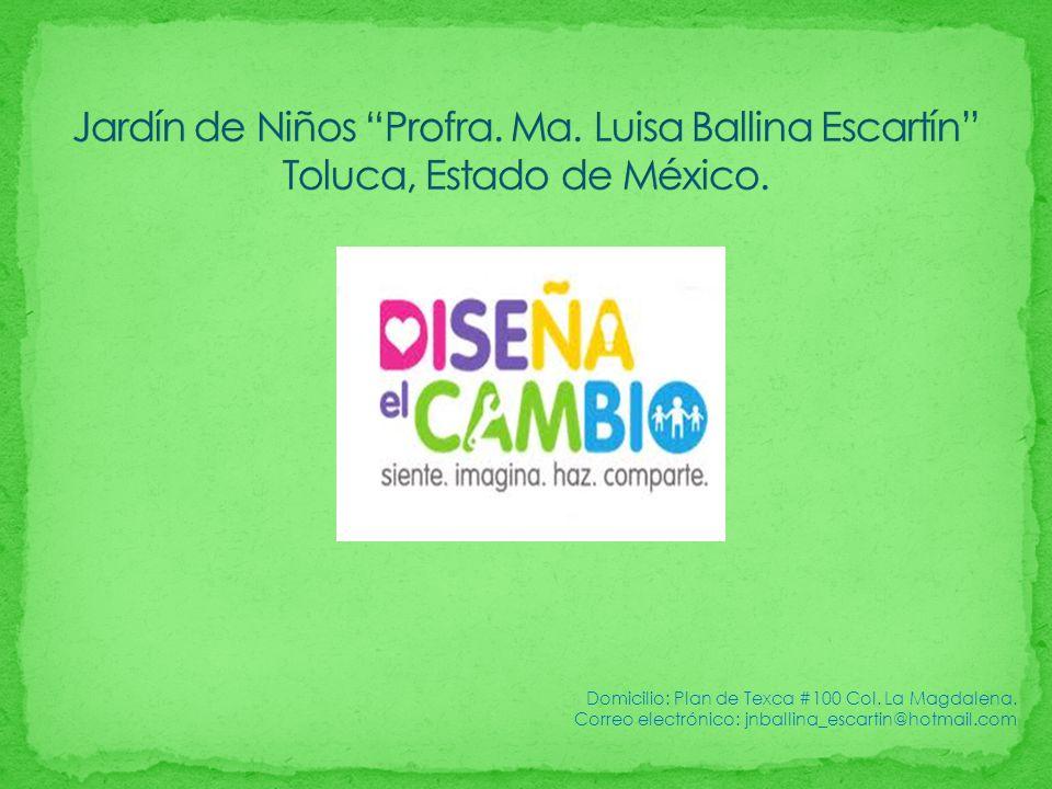 Domicilio: Plan de Texca #100 Col. La Magdalena. Correo electrónico: jnballina_escartin@hotmail.com