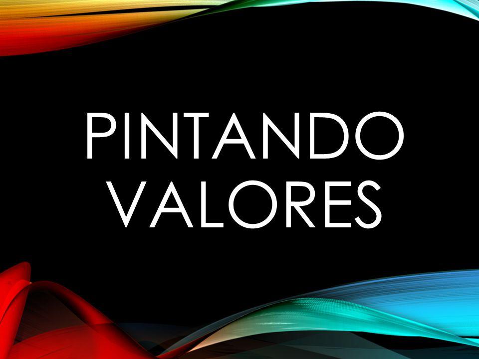 PINTANDO VALORES