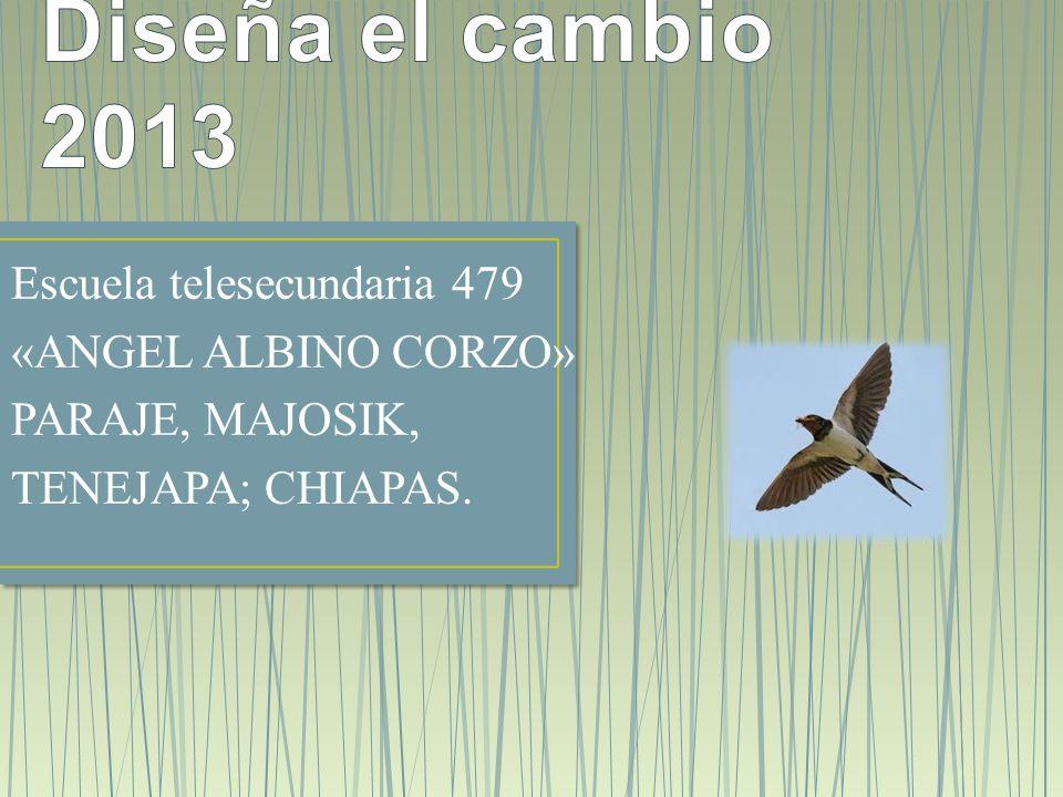 Escuela telesecundaria 479 «ANGEL ALBINO CORZO» PARAJE, MAJOSIK, TENEJAPA; CHIAPAS.