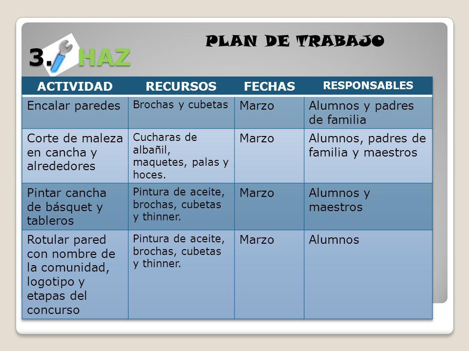 3. HAZ PLAN DE TRABAJO