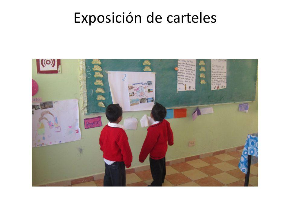 Exposición de carteles