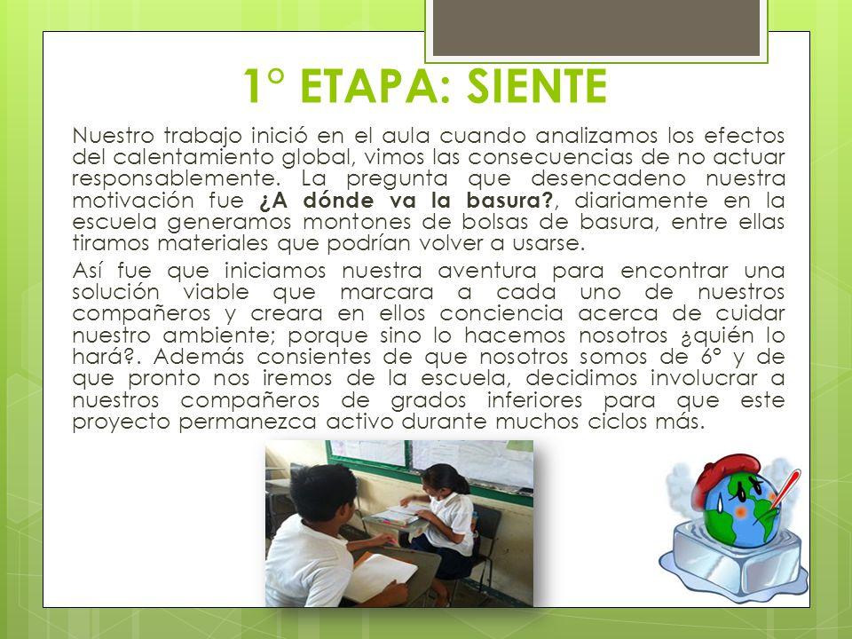 EXPOSICIÓN DE TRABAJOS La maestra de 2do con sus alumnos
