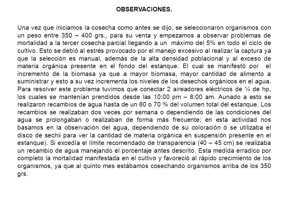OBSERVACIONES.