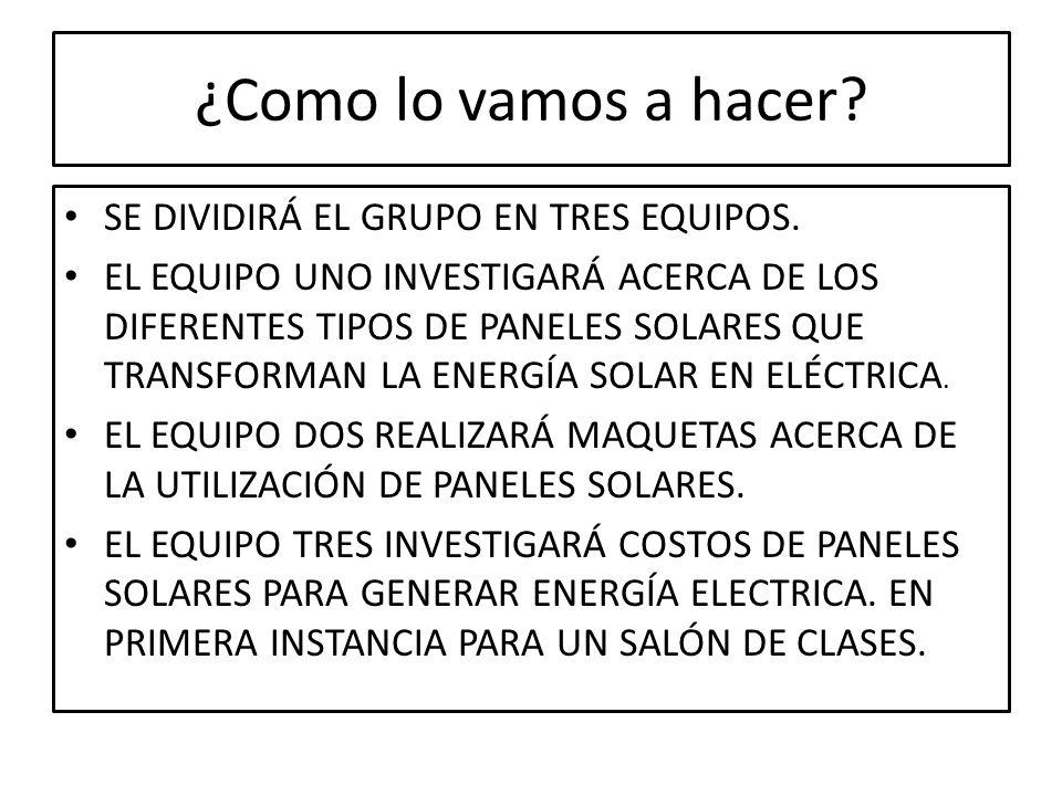 MAQUETA: EJEMPLO DE UTILIZACIÓN DE ENERGÍA SOLAR PARA UNA CASA HABITACIÓN