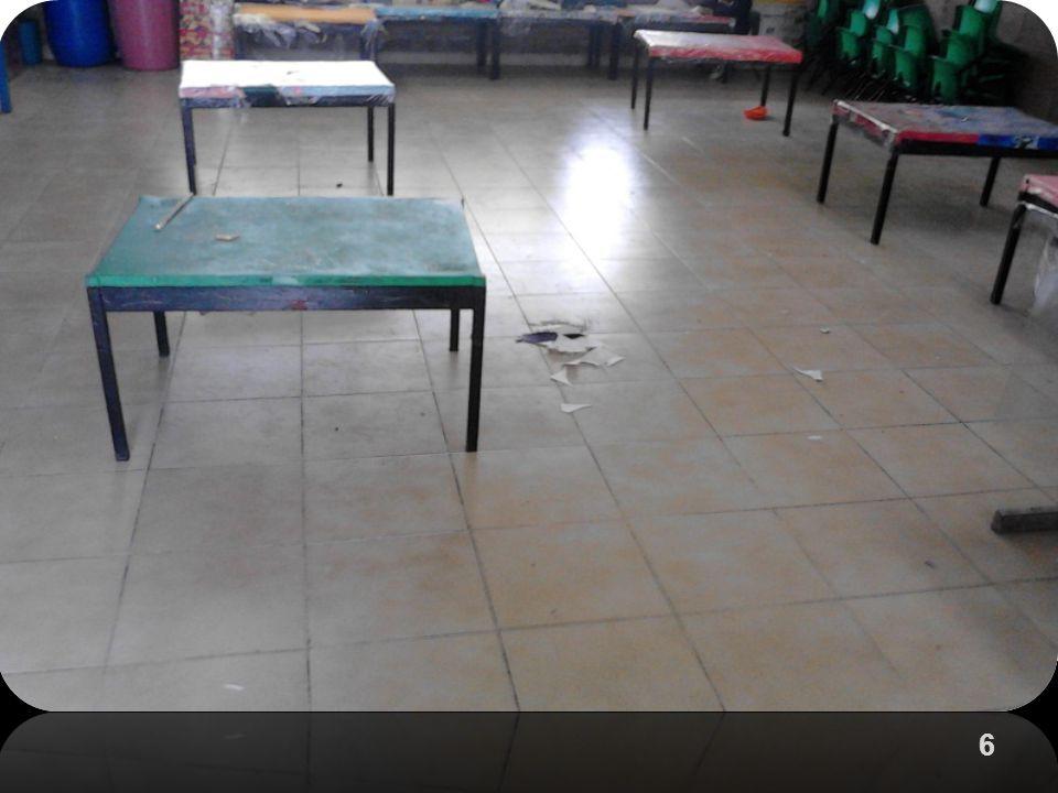 7 ESCUELA LIMPIA AMBIENTE AGRADABLE Los niños realizaron sus carteles con ayuda de su mamá y los difundieron en el patio de la escuela, también se pasaron a los salones a explicar la clasificación de basura orgánica e inorgánica.