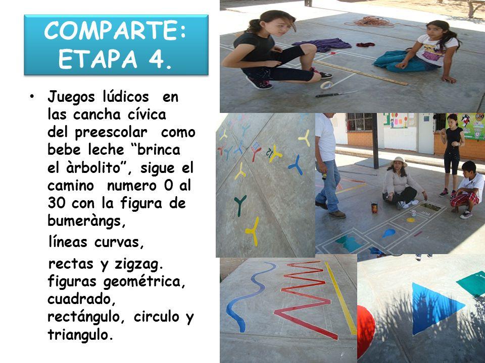 COMPARTE: ETAPA 4.