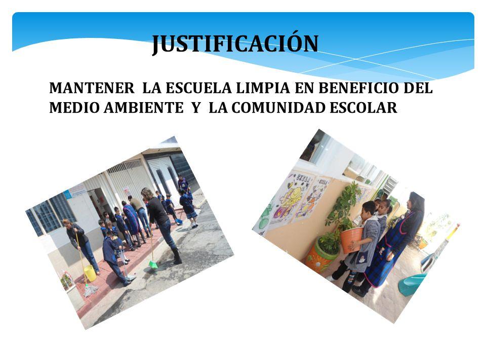 SENSIBILIZAR A LA COMUNIDAD ESTUDIANTIL A COMPRENDER LA IMPORTANCIA DE MANTENER NUESTRO ENTORNO SIEMPRE LIMPIO. PRÓPOSITO