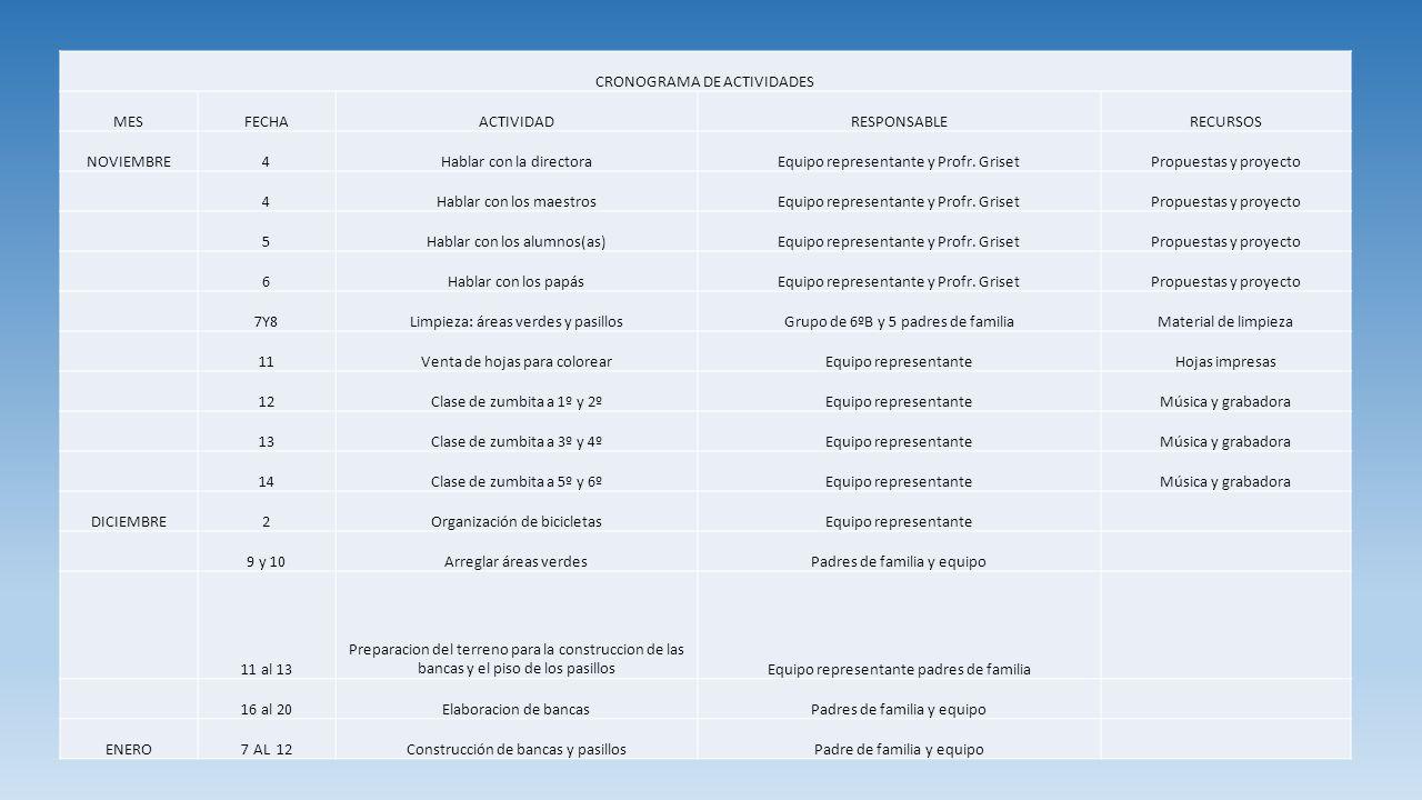 ACTIVIDADES REALIZADAS SE QUITARON LOS ESCOMBROS DE DIFERTENTES PARTES DE LA ESCUELA