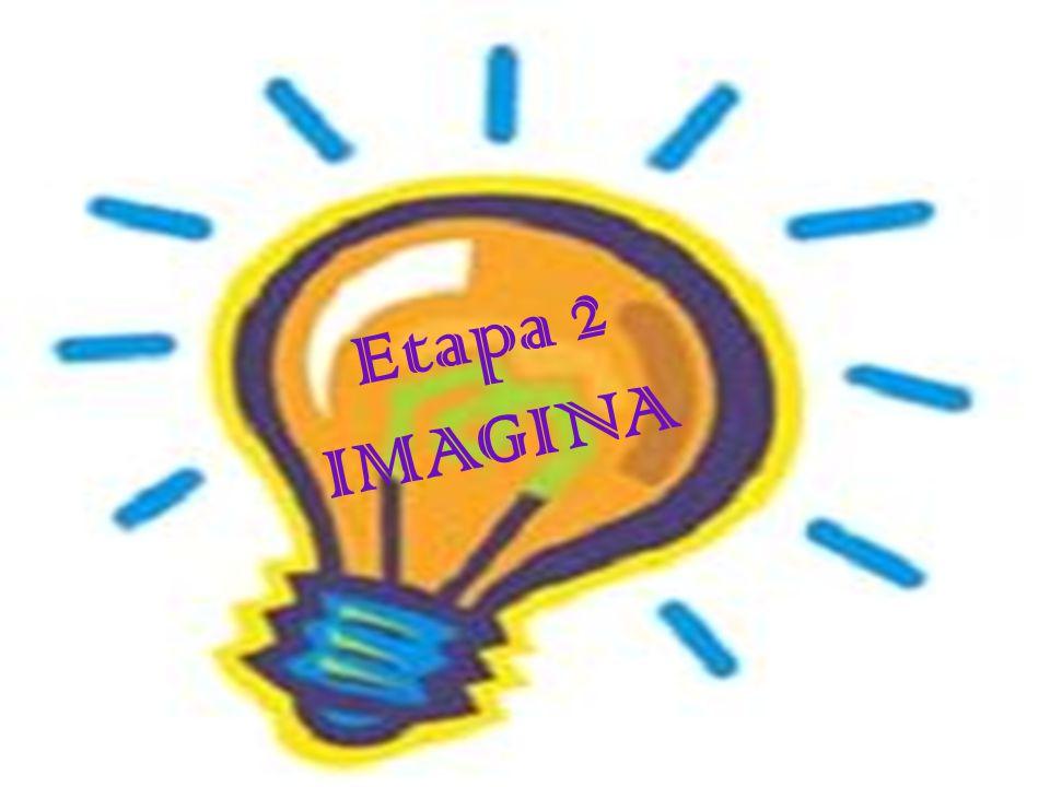Imagina Durante esta etapa, los alumnos tuvieron que diseñar el plan de acción en el cual desarrollaron las actividades a realizar para lograr su objetivo.