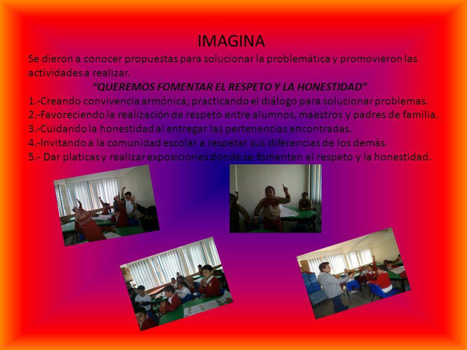 HAZA trabajar reflexionando se ha dicho y con todo el entusiasmo se desarrollaron las actividades propuestas