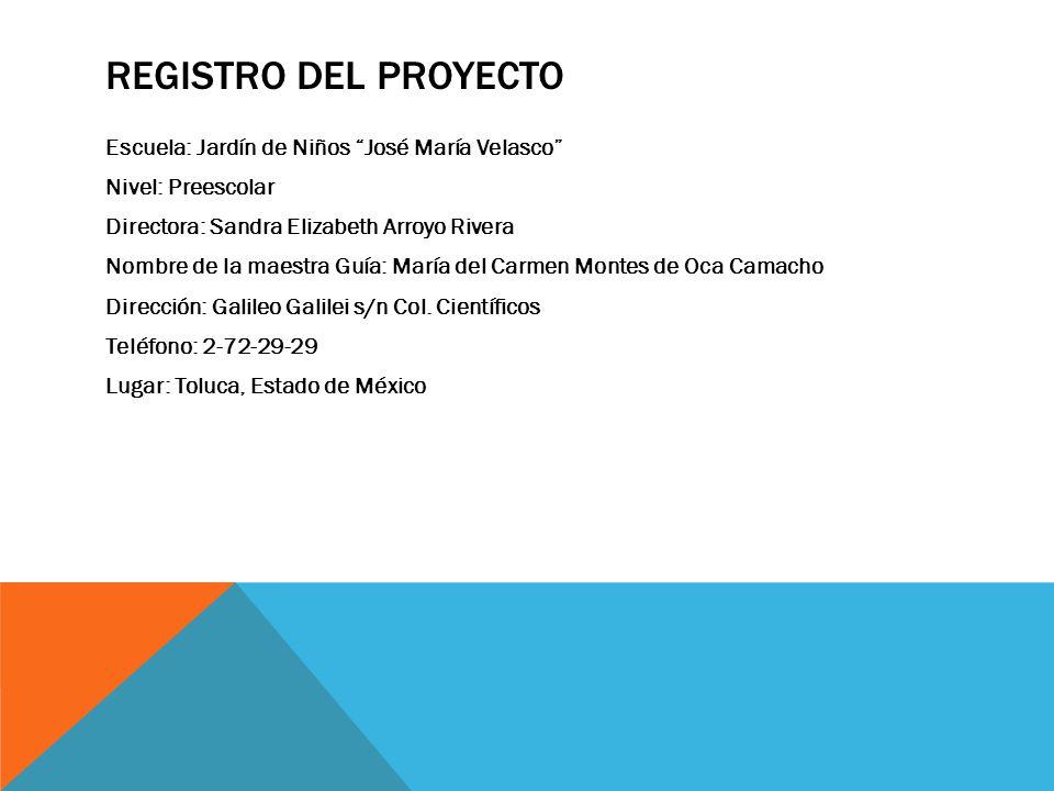DISEÑA EL CAMBIO JARDÍN DE NIÑOS JOSÉ MARÍA VELASCO C.C.T. 15 EJN0304 REGRESEMOS LA LIMPIEZA A TOLUCA